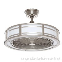 Home Decorators Collection Brette 23 in. LED Indoor/Outdoor Brushed Nickel Ceiling Fan - B01GDOHPJK