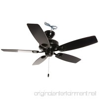 "Hunter Fan Company 53351 Casual Sea Wind Matte Black Ceiling Fan  48"" - B01CDFZ568"