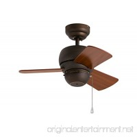 Monte Carlo 3TF24RB  Micro 24 inch Ceiling Fan  Indoor/Outdoor  Roman Bronze - B00149YWYQ