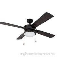 Prominence Home 50345-01 52 Auletta Outdoor Ceiling Fan Matte Black - B078PF2BY5