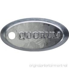 Quorum 143425-9 Estate Patio Galvanized 42 Outdoor Ceiling Fan - B001QWX10C