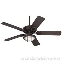 "52"" Casa Vieja Bronze Wet Location Ceiling Fan w/Light Kit - B01K0OZSMK"