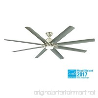 Home Decorators Collection Kensgrove 72 in. LED Indoor/Outdoor Brushed Nickel Ceiling Fan - B07453TFLM