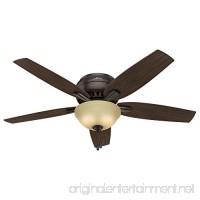 Hunter Fan Company 53314 Newsome Ceiling Fan with Light 52/Large Premier Bronze - B01C2A1D9W