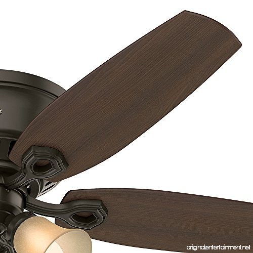 "Hunter Fan Company Builder Great Room New Bronze Ceiling: Hunter Fan Company 53327 52"" Builder Low Profile New"