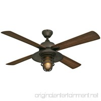 "Westinghouse 7204300 Great Falls One-Light 52"" ABS Resin Four-Blade Indoor/Outdoor Ceiling Fan  Oil Rubbed Bronze - B01D66K3NI"
