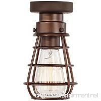 Bendlin Industrial 1-Light Bronze Ceiling Fan Light Kit - B01CBPDWQ0