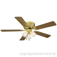 "Design House 156604 Millbridge 3 Light Ceiling Fan 52""  Polished Brass - B0002YVR3S"