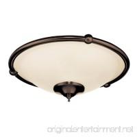 Emerson Ceiling Fans LK53ORB Low Profile Damp Light Kit for Ceiling Fans  Candelabra - B001CAFR6Y