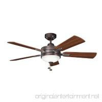 Kichler 300148OBB 52-Inch Logan Fan  Oil Brushed Bronze - B006QELREM