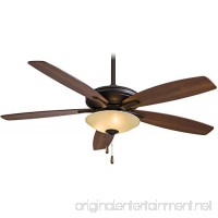 "Minka-Aire F522-ORB/TS  Mojo  52"" Ceiling Fan with Light  Oil-Rubbed Bronze - B00CCP49SA"