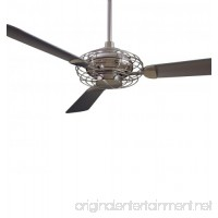 "Minka-Aire F601-BS/BN  Acero   52"" Ceiling Fan with Light  Brushed Steel - B000W9EBMW"