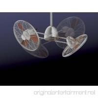 "Minka-Aire F602-BN/CH  Gyro  42"" Twin Turbofans with Light  Brushed Nickel - B00CIDMVWW"