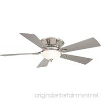 Minka-Aire F711-PN Minka Aire Two Light Hugger Ceiling Fan Polished Nickel - B00D3JEID0