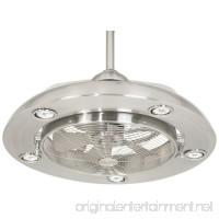 Possini Euro Segue 24-W Brushed Nickel 5-Light Ceiling Fan - B004NDDJI0