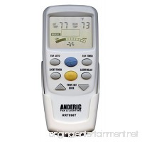 "Anderic Replacement for Hampton Bay CHQ7096T with""Fan Timer"" key Thermostatic Remote Control for Hampton Bay Ceiling Fans (FCC ID: CHQ7096T  UC7096T  CHQ8BF7096T  CHQ8BT7096T) - RR7096T - B06XG2RNJT"