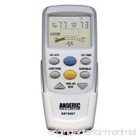 Anderic Replacement for Hampton Bay CHQ7096T withFan Timer key Thermostatic Remote Control for Hampton Bay Ceiling Fans (FCC ID: CHQ7096T UC7096T CHQ8BF7096T CHQ8BT7096T) - RR7096T - B06XG2RNJT