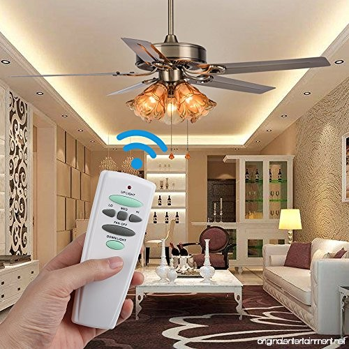 Eogifee Ceiling Fan Remote Control Replacement Of Hampton