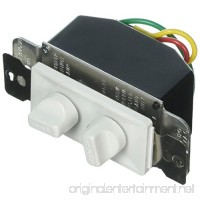 Legrand-Pass & Seymour 94315W Rotary Dual Fan Speed/Dimmer Control - B008SEM50I