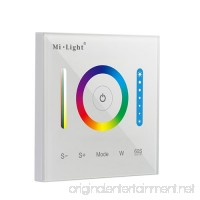 Mi.Light P3 Wall-mounted Full Touch Panel Controller For 3528 5050 2835 All Kinds Of RGB RGBW RGB+CCT Dimmable Color Changing LED Strip Lighting DC 12-24V 15A 180W 360W - B01N9LFU9A